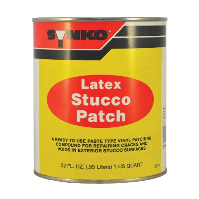 Synkoloid 1 Qt. White Latex Stucco Patch, 405-936