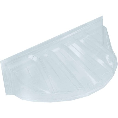 MacCourt 44 In. x 19 In. Plastic Window Well Cover