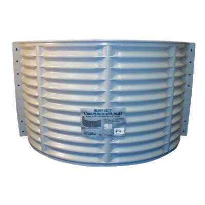 Amerimax 24 In. x 37 In. Round Stackable Plastic Window Well