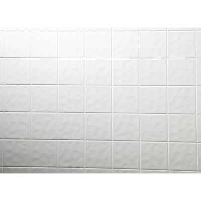 DPI AquaTile 4 Ft. x 8 Ft. x 1/8 In. White Tileboard Wall Tile