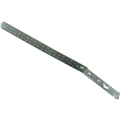 Simpson Strong-Tie 26-1/8 in. L. Galvanized Steel 12 Gauge Strap Tie Holdown
