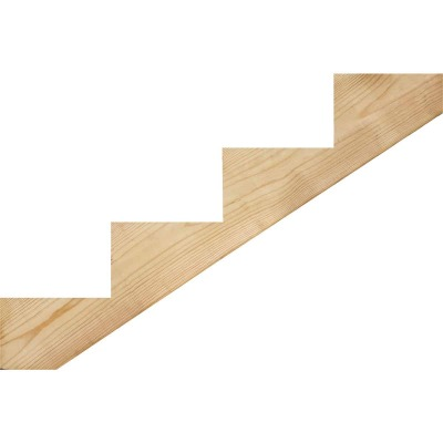 Kitzmans 2 In. x 10 In. 4-Step Treated Precut Stair Stringer