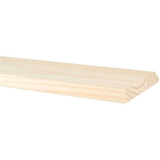 Waddell 7 In. x 24 In. Unfinished Premium Pine Shelving