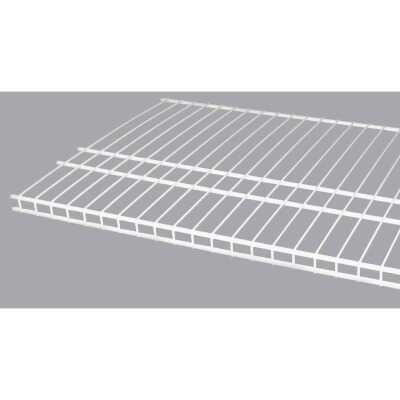 ClosetMaid SuperSlide 6 Ft. W. x 16 In. D. Ventilated Closet Shelf, White