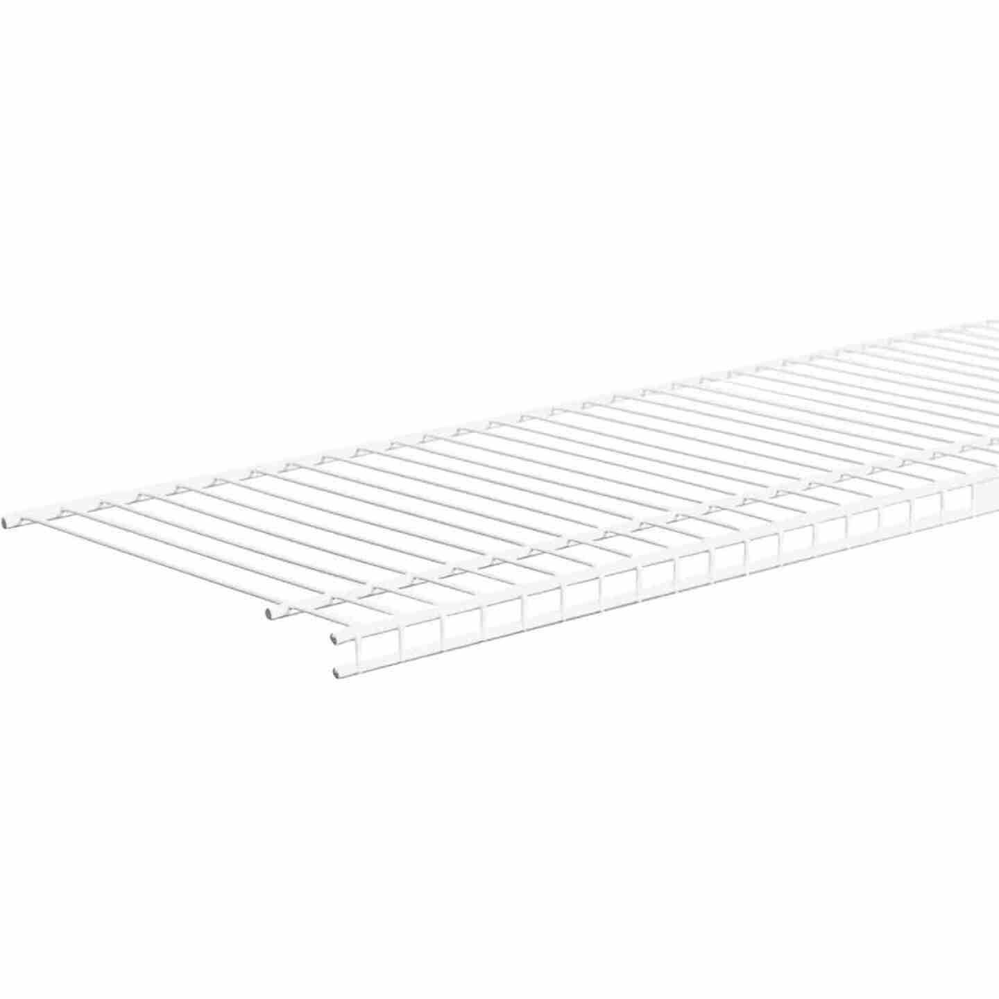 ClosetMaid SuperSlide 4 Ft. W. x 12 In. D. Ventilated Closet Shelf, White Image 3