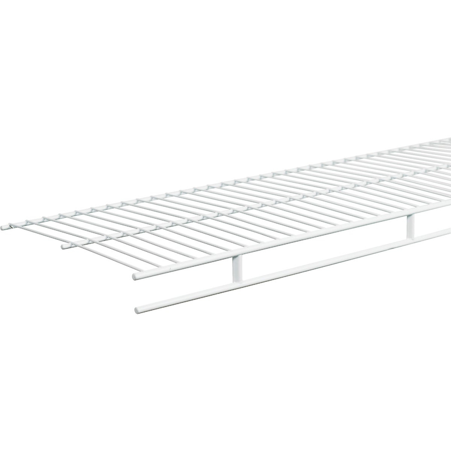 ClosetMaid 12 Ft. W. x 12 In. D. Contractor Pack Ventilated Shelf & Rod Closet Shelf, White (6-Pack) Image 1