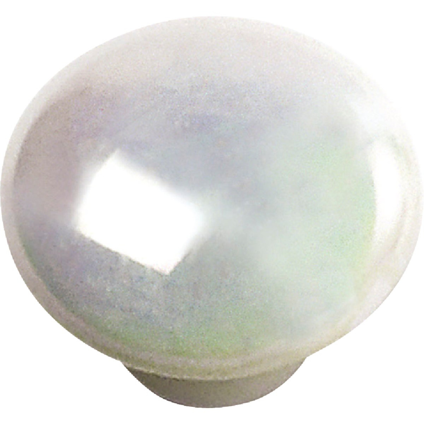 Laurey 1-1/4 In. Opal Round Porcelain Knob Image 1