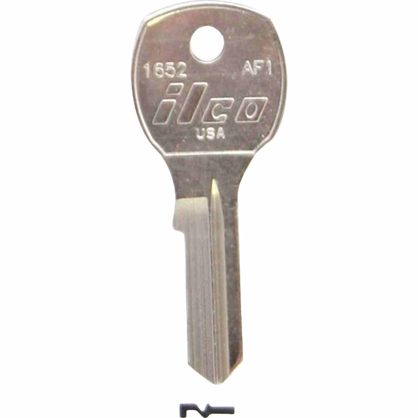 ILCO Florence Nickel Plated House Key, AF1 (10-Pack) Image 1