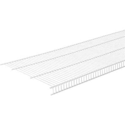 ClosetMaid 12 Ft. W. x 16 In. D. Close Mesh Ventilated Closet Shelf, White