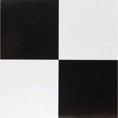 Home Impressions Checkerboard Tile 12 In. x 12 In. Vinyl Floor Tile (45 Sq. Ft./Box)