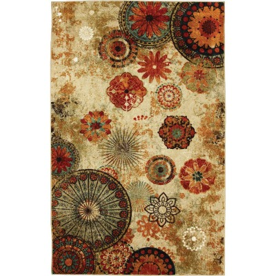 Mohawk Home Caravan Medallion 2 Ft. 6 In. x 3 Ft. 10 In. Accent Rug
