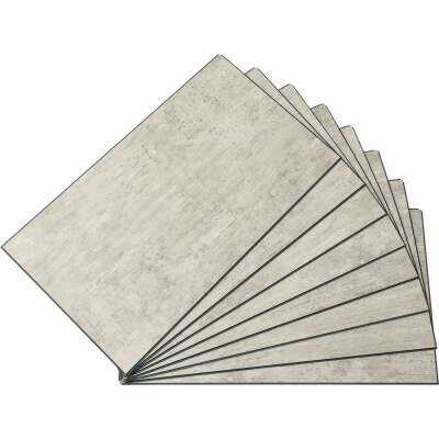 Palisade Wind Gust 25.6 In. x 14.8 In. Waterproof Interlocking Wall Tile (21 Sq. Ft./Case)
