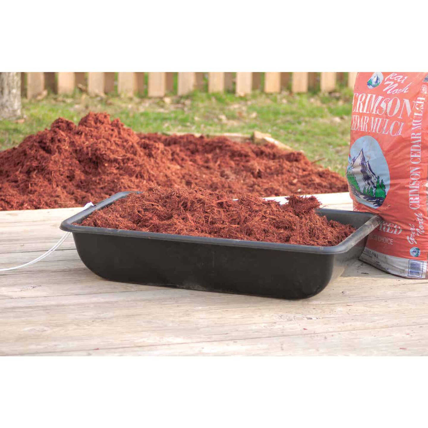 Heavy-Duty Large 37.6 In. Concrete Mixing Tub Image 7