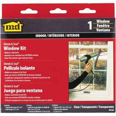 M-D Shrink & Seal 42 In. x 62 In. Indoor Window Insulation Kit