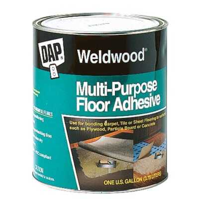 DAP Weldwood Multi-Purpose Floor Adhesive, 1 Gal.