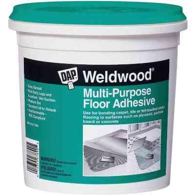 DAP Weldwood Multi-Purpose Floor Adhesive, 4 Gal.