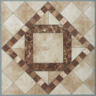 Home Impressions Travertine Mosaic 12 In. x 12 In. Vinyl Floor Tile (45 Sq. Ft./Box) Image 1