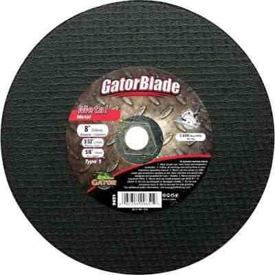 Gator Blade Type 1 8 In. x 3/32 In. x 5/8 In. Metal Cut-Off Wheel