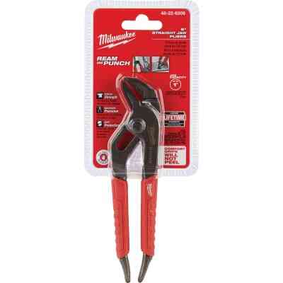 Milwaukee 6 In. Comfort Grip Straight Jaw Groove Joint Pliers