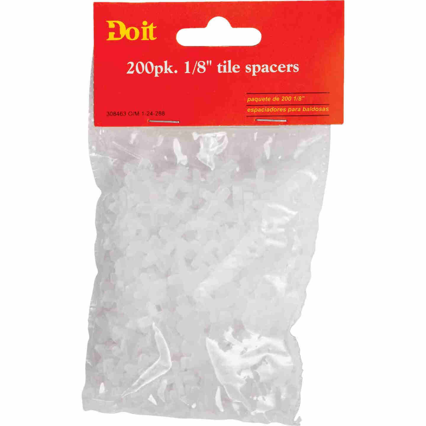 Do it 1/8 In. White Hard Tile Spacers (200-Pack) Image 1