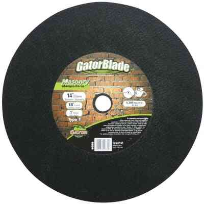 Gator Blade Type 1 14 In. x 1/8 In. x 1 In. Masonry Cut-Off Wheel