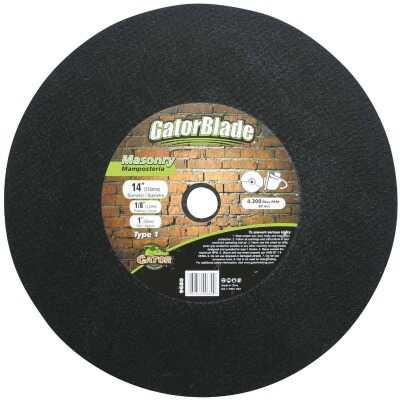 Gator Blade Type 1 14 In. x 1/8 In. x 1 In. Masonry Cut-Off Wheel
