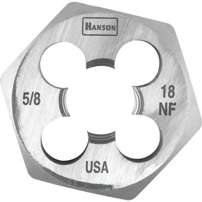 Irwin Hanson 5/8 In. - 18 NF Machine Screw Hex Die