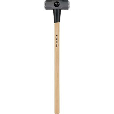 Truper 16 Lb. Double-Faced Sledge Hammer with 36 In. Hickory Handle
