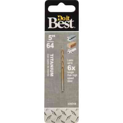 Do it Best 5/64 In. Titanium Drill Bit