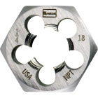 Irwin Hanson 4 In. - 36 NS Machine Screw Hex Die Image 1