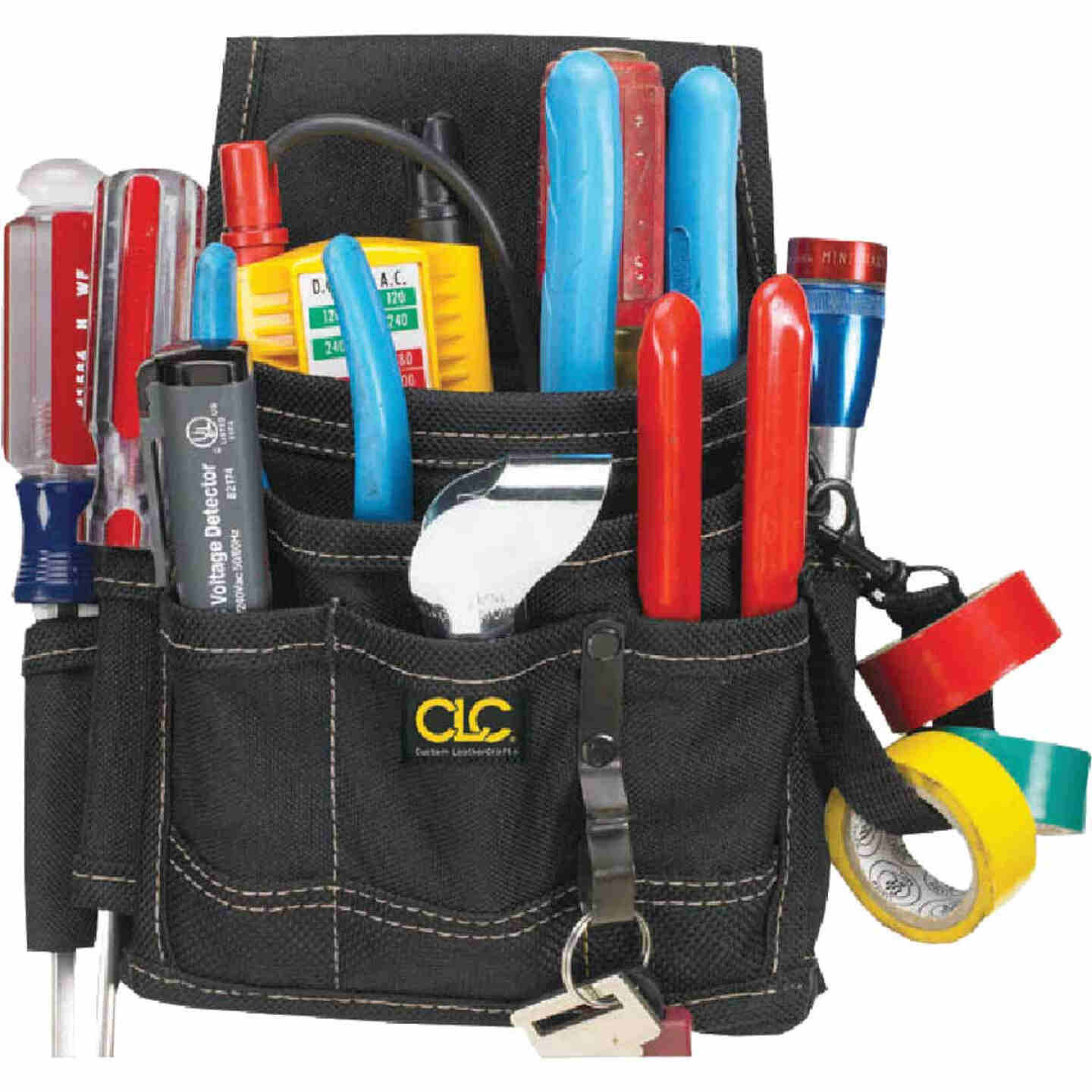 CLC 9-Pocket Electrical and Maintenance Tool Pouch Image 1