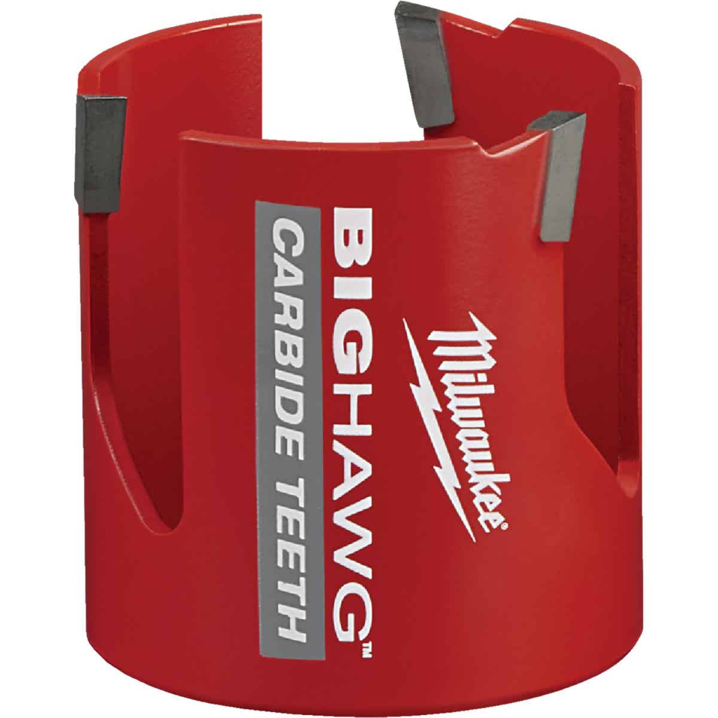 Milwaukee Big Hawg 2-9/16 In. Carbide-Tipped Hole Saw Image 1