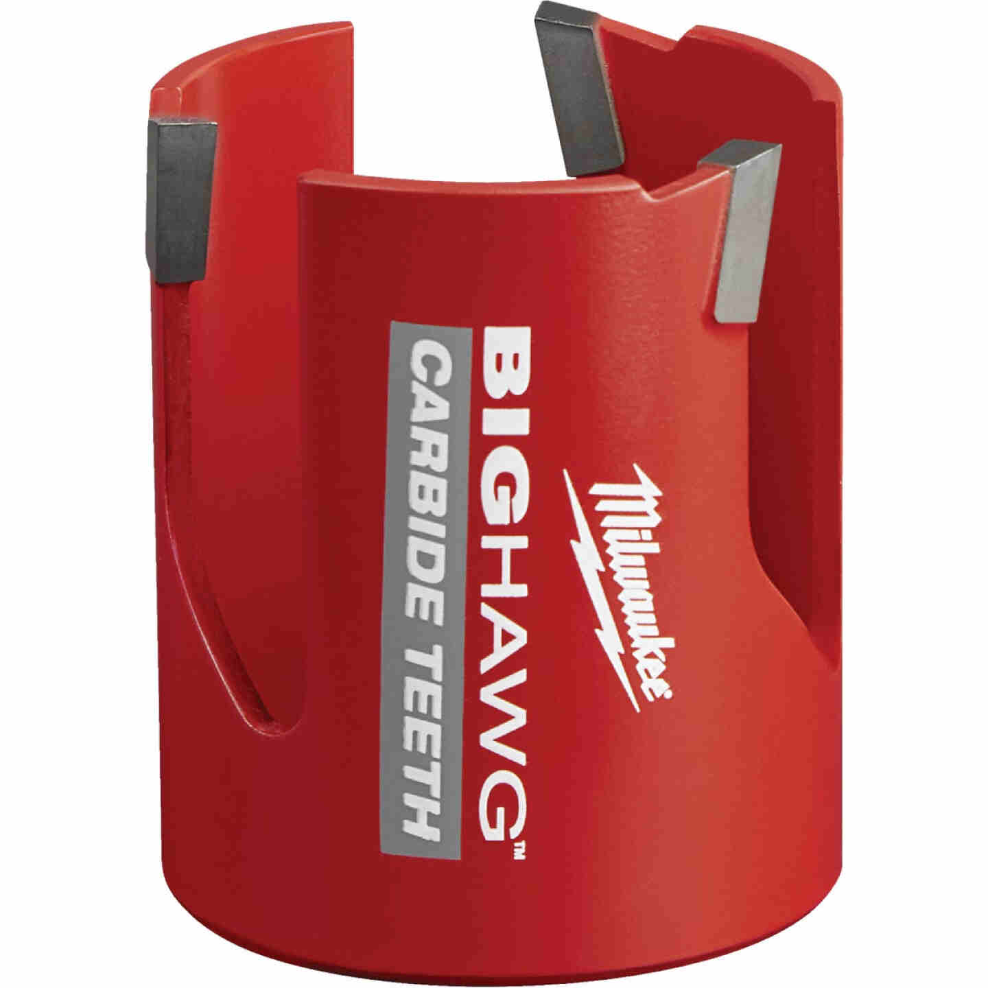 Milwaukee Big Hawg 2-1/4 In. Carbide-Tipped Hole Saw Image 1