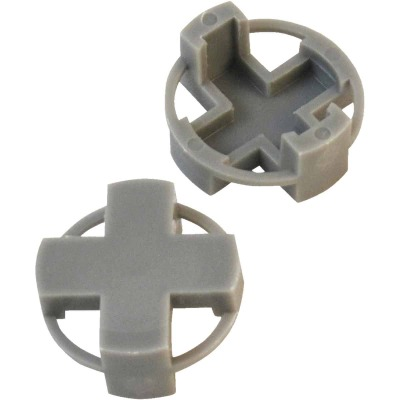 Marshalltown 3/8 In. Gray Tavy Tile Spacers (100-Pack)