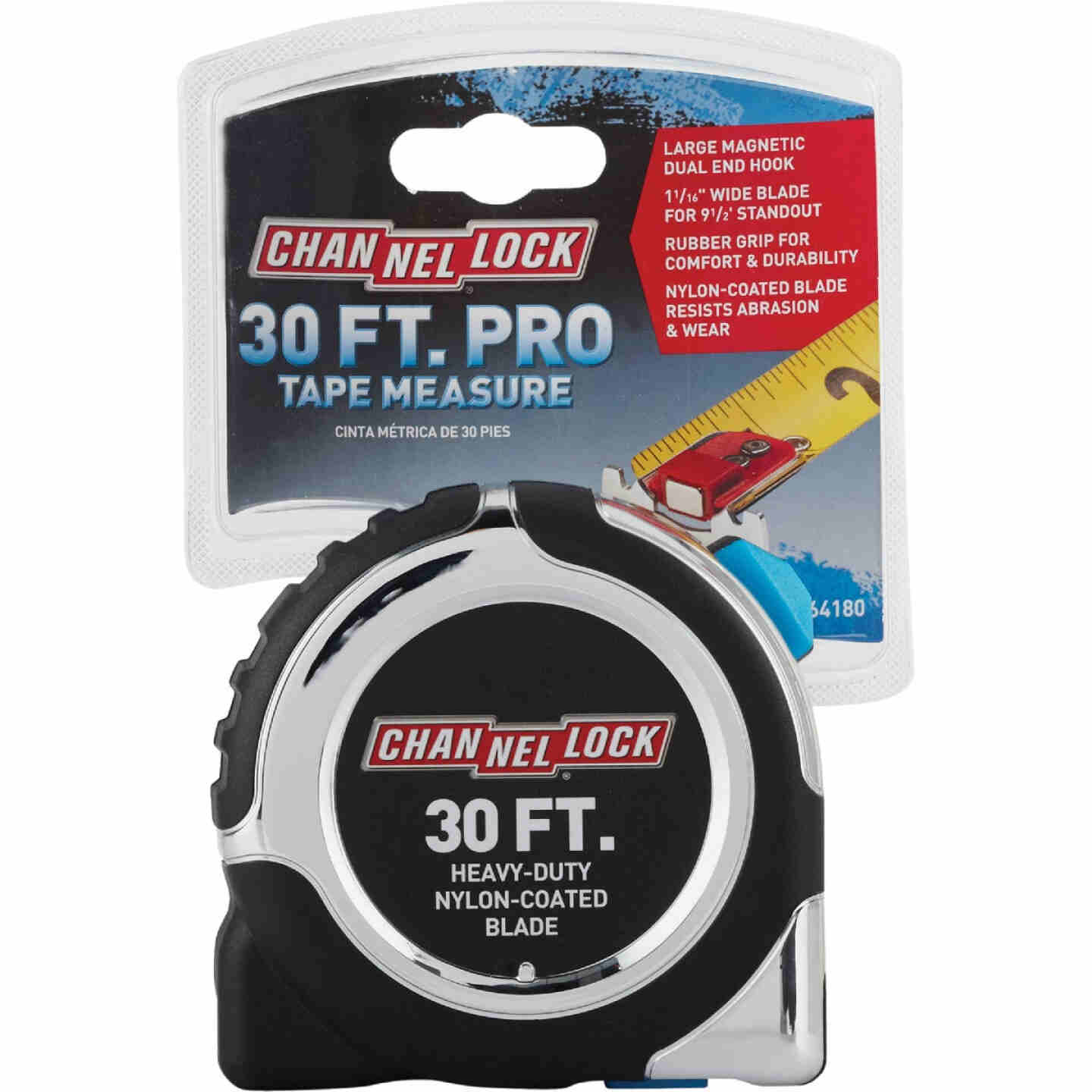Channellock 30 Ft. Professional Tape Measure Image 2