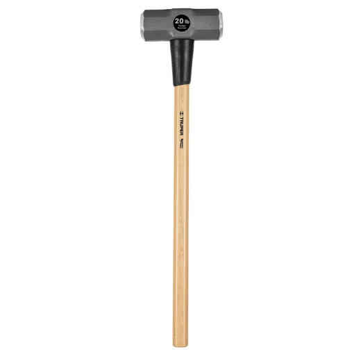 Truper 20 Lb. Double-Faced Sledge Hammer with 36 In. Hickory Handle