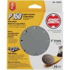Shop Smith 5 In. 150-Grit 8-Hole Pattern Vented Sanding Disc with Hook & Loop Backing (15-Pack) Image 1