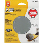 Shop Smith 5 In. 180-Grit 8-Hole Pattern Vented Sanding Disc with Hook & Loop Backing (15-Pack) Image 1