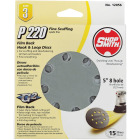Shop Smith 5 In. 220-Grit 8-Hole Pattern Vented Sanding Disc with Hook & Loop Backing (15-Pack) Image 1