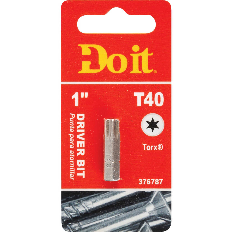Do it T-40 TORX 1 In. Insert Screwdriver Bit Image 1