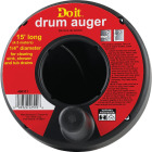 Do it Best 1/4 In. x 15 Ft. Molded Polymer Drum Drain Auger Image 2