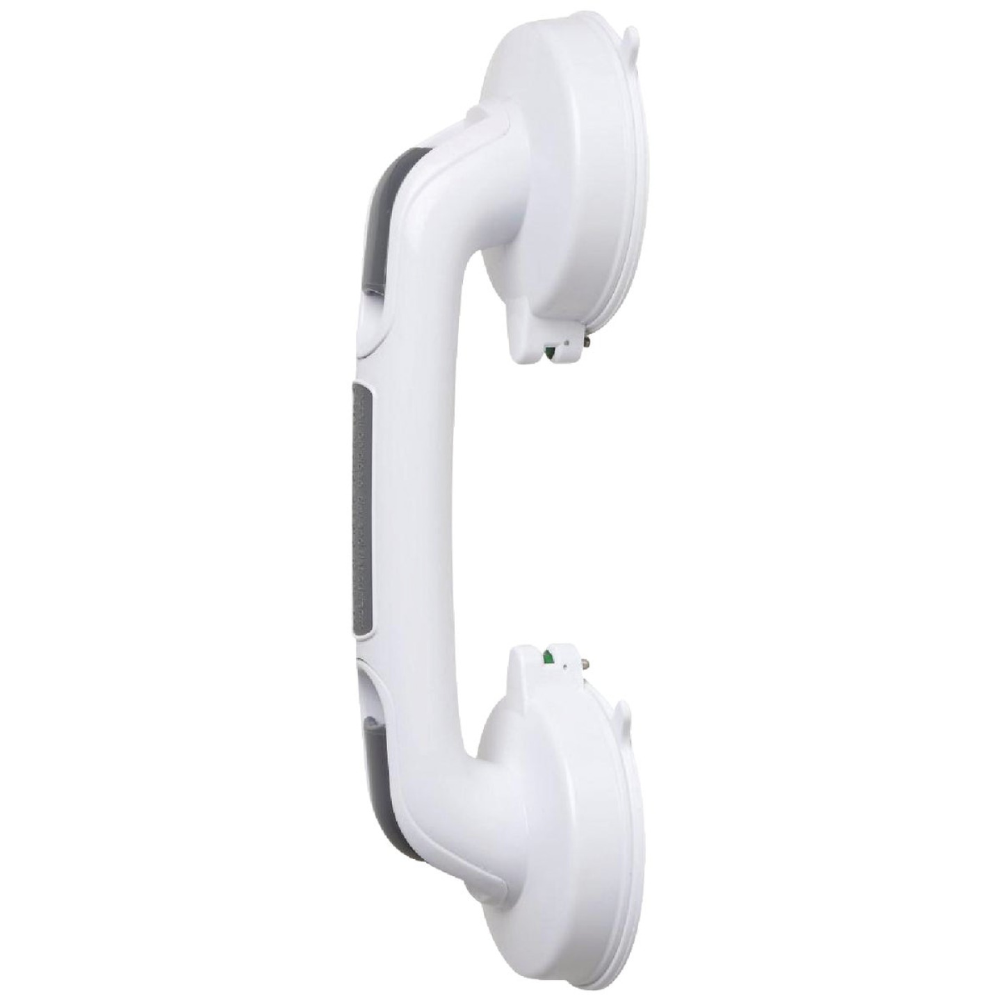 Medline Suction 12 In. Suction Cup Grab Bar, White Image 1