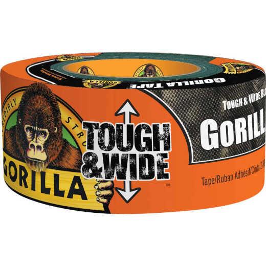 Gorilla 2.88 In. x 25 Yd. Tough & Wide Heavy-Duty Duct Tape, Black
