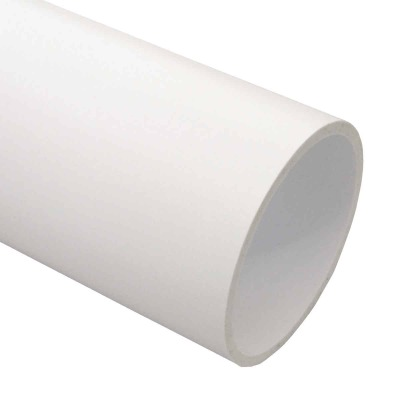Genova 4 In. X 10 Ft. PVC-DWV Cellular Core Schedule 40 Pipe, Belled End