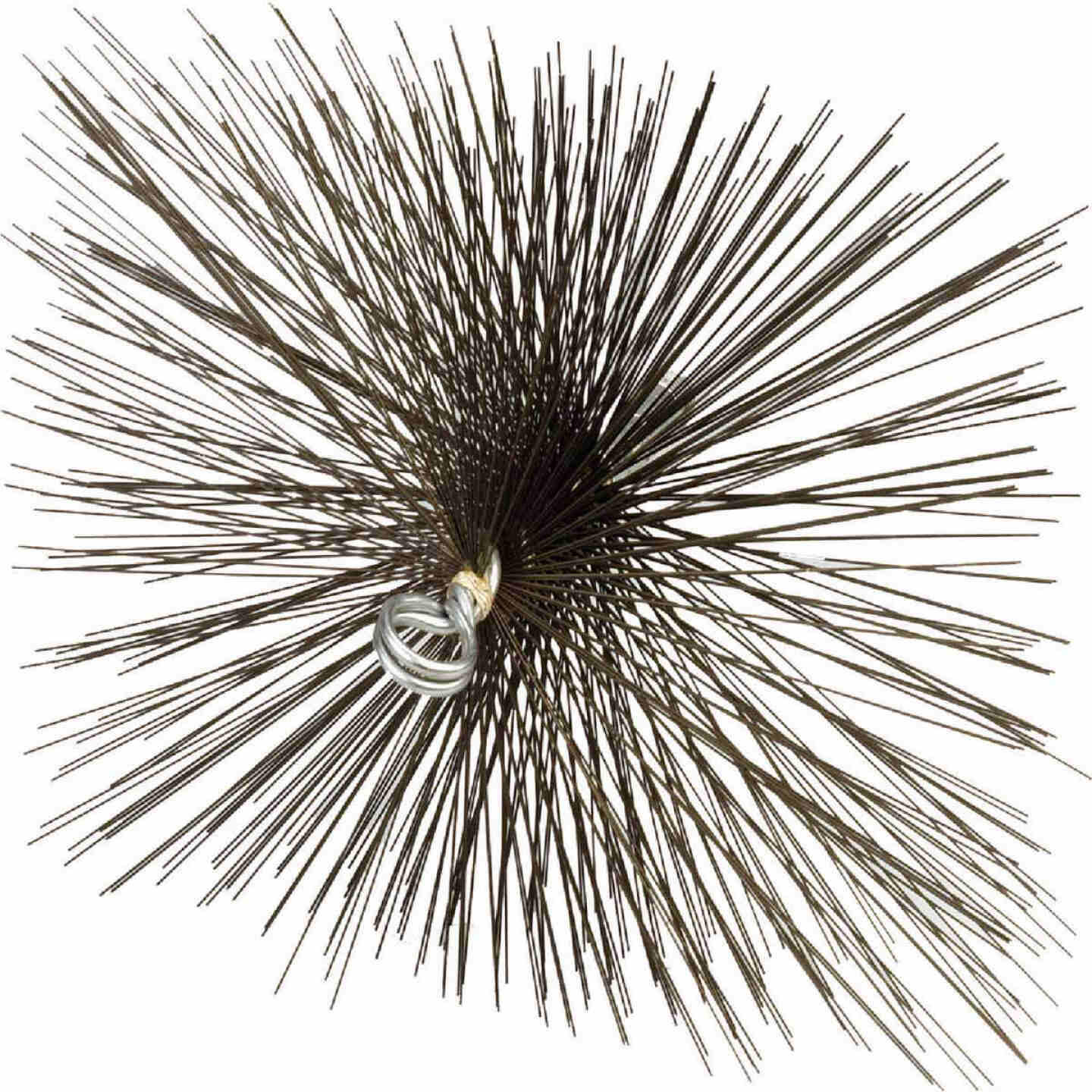 Meeco's Red Devil 12 In. Square Wire Chimney Brush Image 1