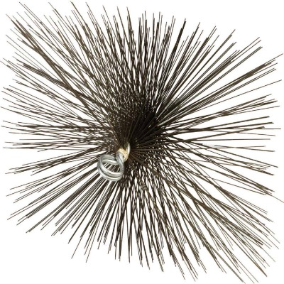 Meeco's Red Devil 12 In. Square Wire Chimney Brush