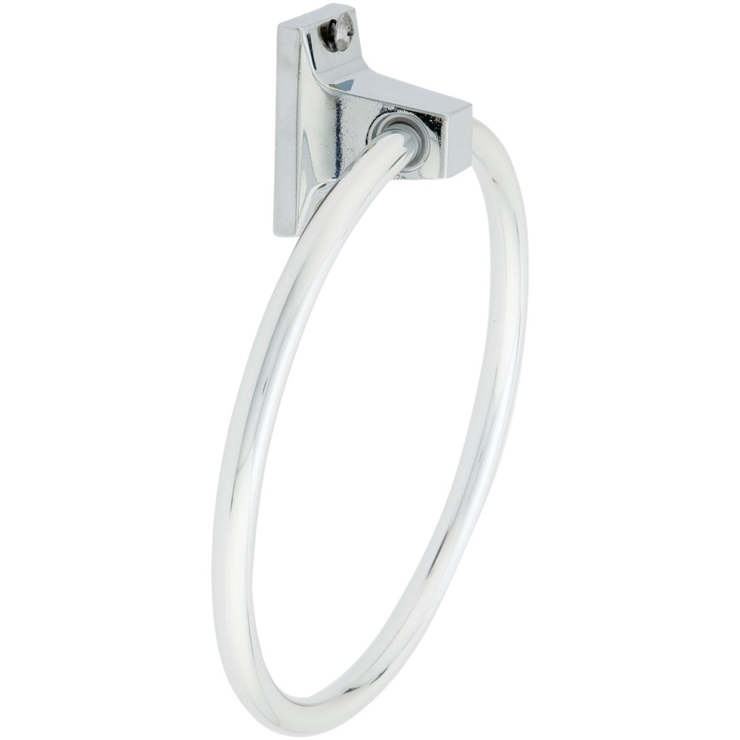 Home Impressions Chrome Towel Ring Image 1