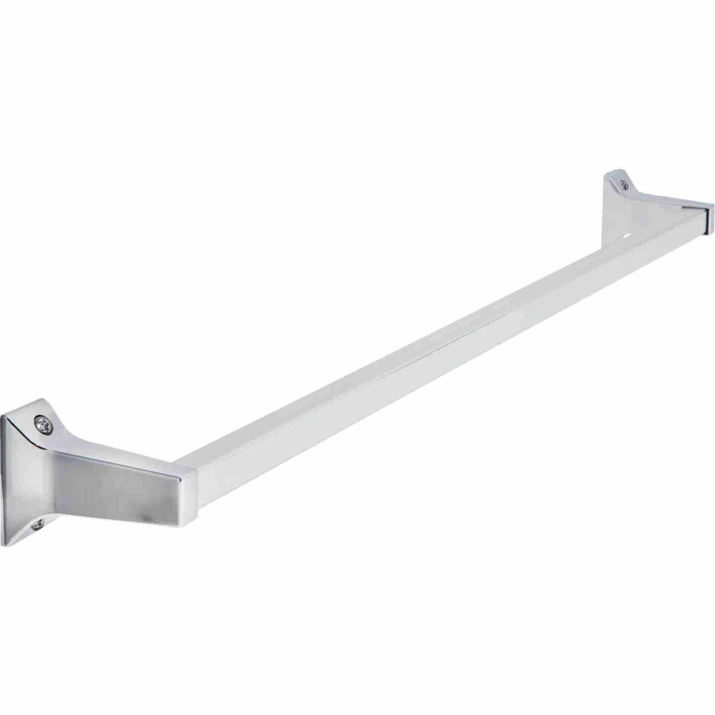 Home Impressions Alpha 24 In. Chrome Towel Bar Image 1