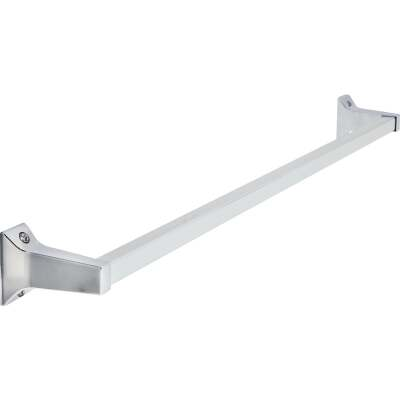 Home Impressions Alpha 24 In. Chrome Towel Bar