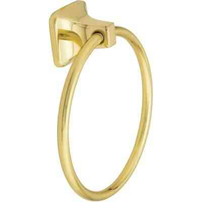 Home Impressions Brass Towel Ring